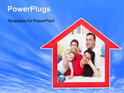 PowerPoint Template - Dream home background
